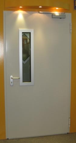 противопожарная дверь HRUS 60 D-1