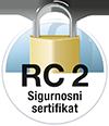 RC 2 zertifizierte Sicherheit