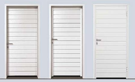 Боковые двери для секционных ворот