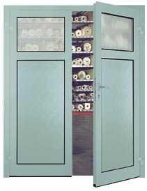 Двустворчатая дверь MZA